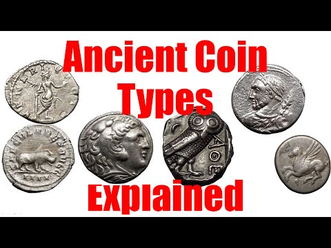 ANCIENT COIN TYPES Explained Guide to Roman Greek Biblical and Byzantine Numismatic Coins