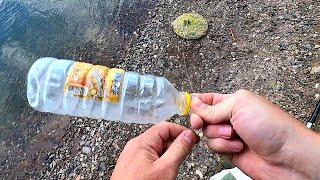 Забросил кошель с комбикормом Рыбалка с берега на поплавок