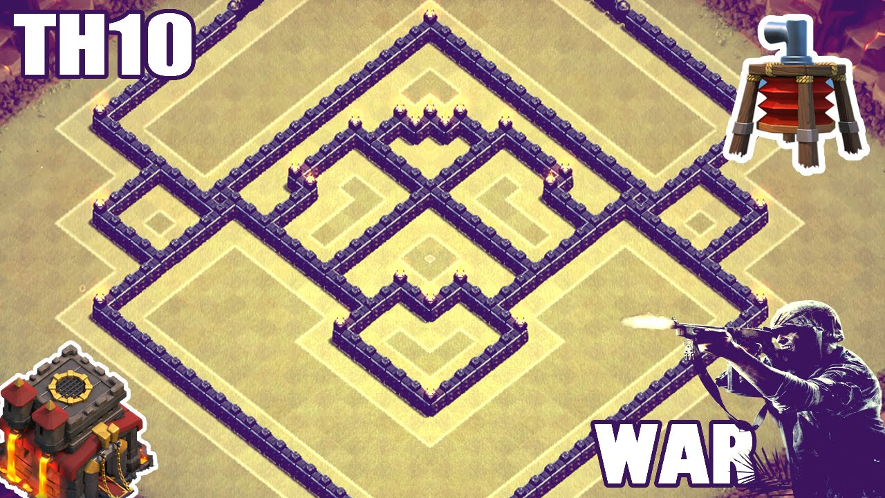 Unbeatable war trophy base air sweeper clash of clans youtube