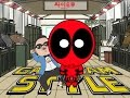 Deadpool Vs Gangnam Style | Psy Parody video
