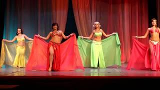 Восточный танец с платком