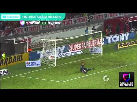 Pachuca vs Veracruz 2-1 Mayo 8,2015 Highlights Univision