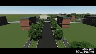 Библиотека в г. Кадамжай. Преддипломный проект.