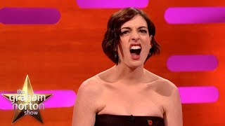 Anne Hathaway Gets Into 'Hangry' Fights With Her Husband | The Graham Norton Show