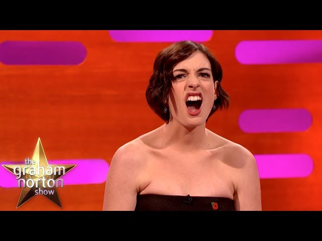 Anne Hathaway Gets Into 'Hangry' Fights With Her Husband   The Graham Norton Show