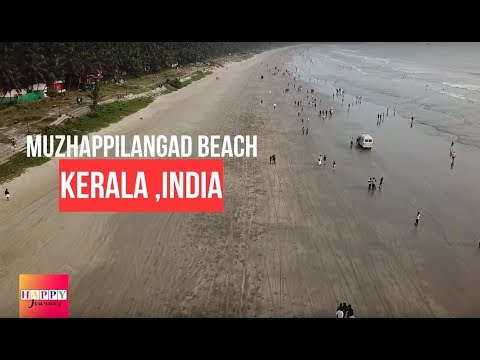 Muzhappilangad Beach | Kerala's only Drive-in Beach at Thalassery | Travel Tips
