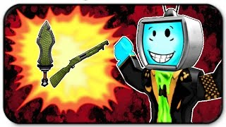 I Have My Own Epic Machete And Epic Shotgun in Roblox Hunted