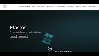 *BEST KEPT SECRET FOR 2018: ELASTOS - DECENTRALIZED WORLD - MONETIZE ASSETS AND DATA!* #ELASTOSVIDEO