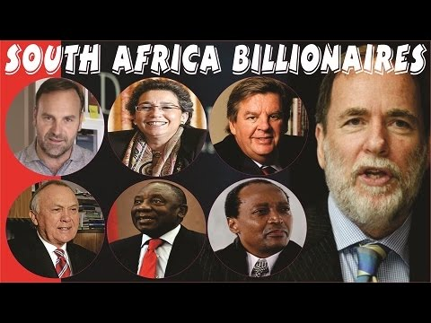 TOP 20 RICHEST PEOPLE IN SOUTH AFRICA IN 2018 in ($, ZAR rand, CFA Franc & Uk-pound)