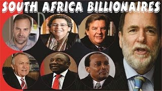 Gambar cover TOP 20 RICHEST PEOPLE IN SOUTH AFRICA IN 2018 in ($, ZAR rand, CFA Franc & Uk-pound)