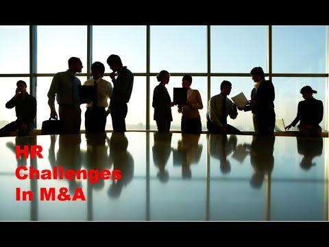 HR & Cultural Issues In M&A Deals - Investment Banking Insig