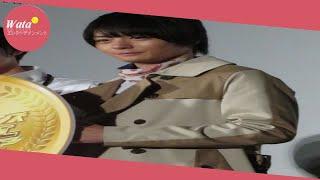 俳優犬飼貴丈(23)が9日、都内で、初主演映画「仮面ライダー平成ジ...