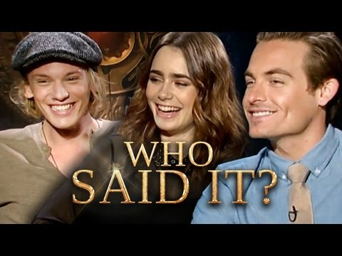 The Mortal Instruments Cast: Who Said It? Jamie Campbell Bower, Lily Collins, Kevin Zegers