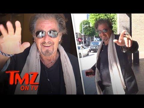 Al Pacino's Exclusive   TMZ TV