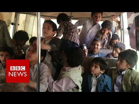 Yemen air strike: The school thats lost 42 children - BBC News