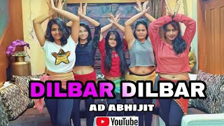 Dilbar Dance Cover || Nora Fatehi || AD Abhijit Choreographer || Satymeva Jayate