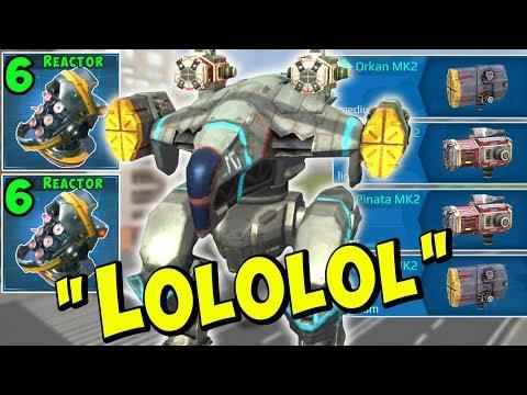 The Ultimate LOL Hunter - Death Button RAVEN Mk2 War Robots Gameplay WR