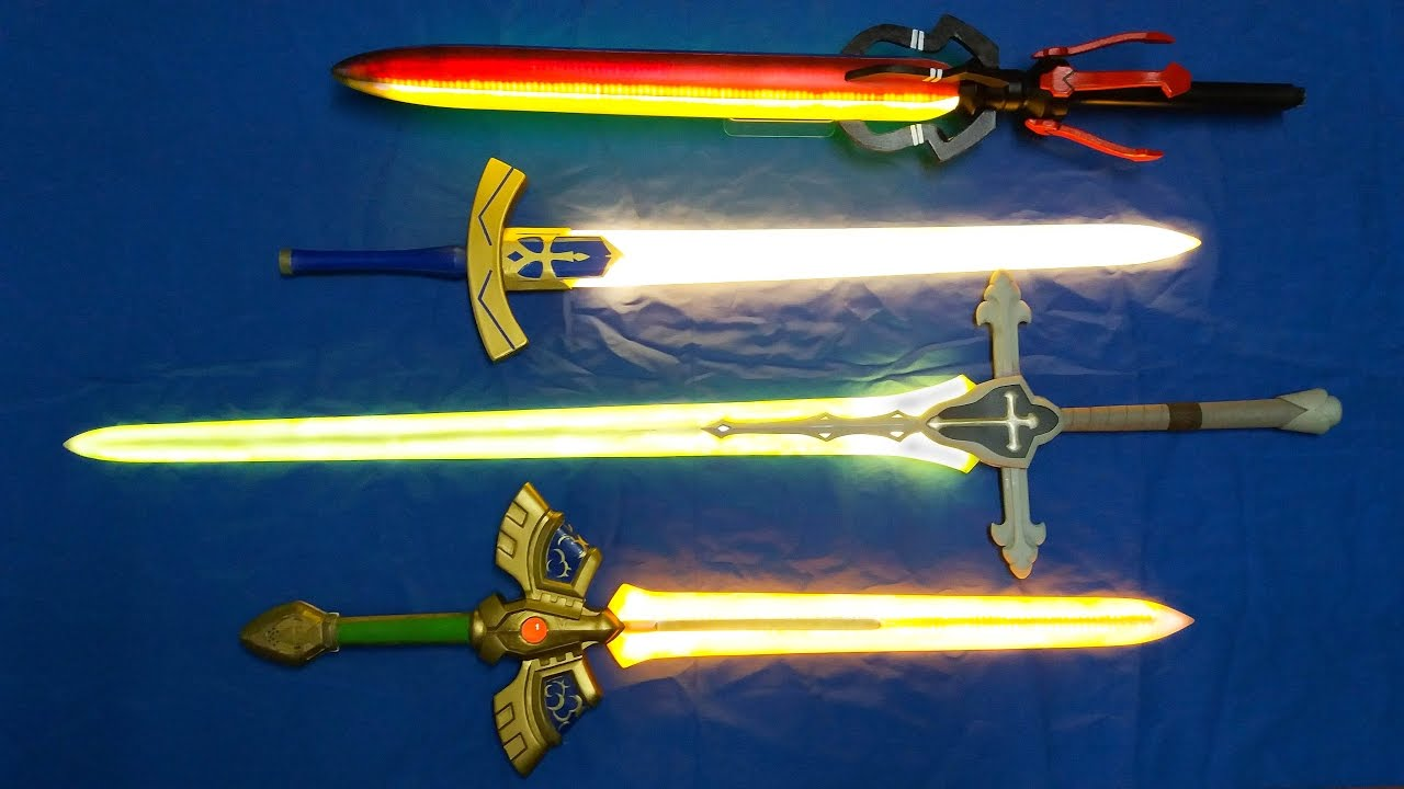 Magic Led Swords For Cosplay Sword Of Seals Excalibur Balmung