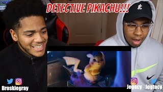POKÉMON Detective Pikachu - Official Trailer #1 | BROSKIE VARIETY REACTION!