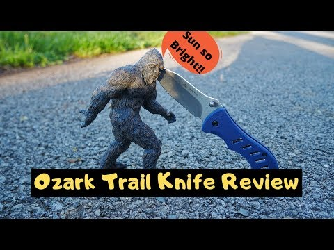 Another Walmart Ozark Trail Flipper EDC Pocket Knife Review