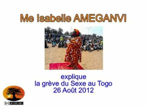 Me Isabelle AMEGANVI explique les objectifs de la grève du sexe au Togo [26/08/2012]