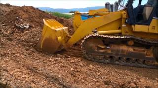 1997 Caterpillar 953C Tracked Loader Running and Operating!