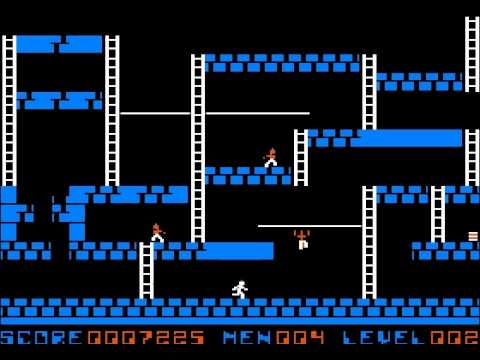 [Apple II] Lode Runner (1983) (Broderbund)