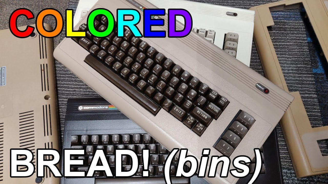 My Different Colored C64 Breadbins
