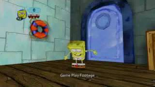 SpongeBob's Truth or Square Official video game trailer Xbox 360 Nintendo Wii, DS and PSP
