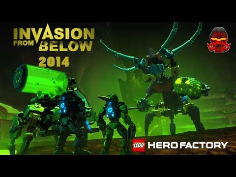 Hero Factory Invasion From Below Bande Annonce Hd
