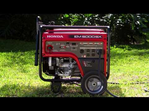 Generator Safety - Honda Generators