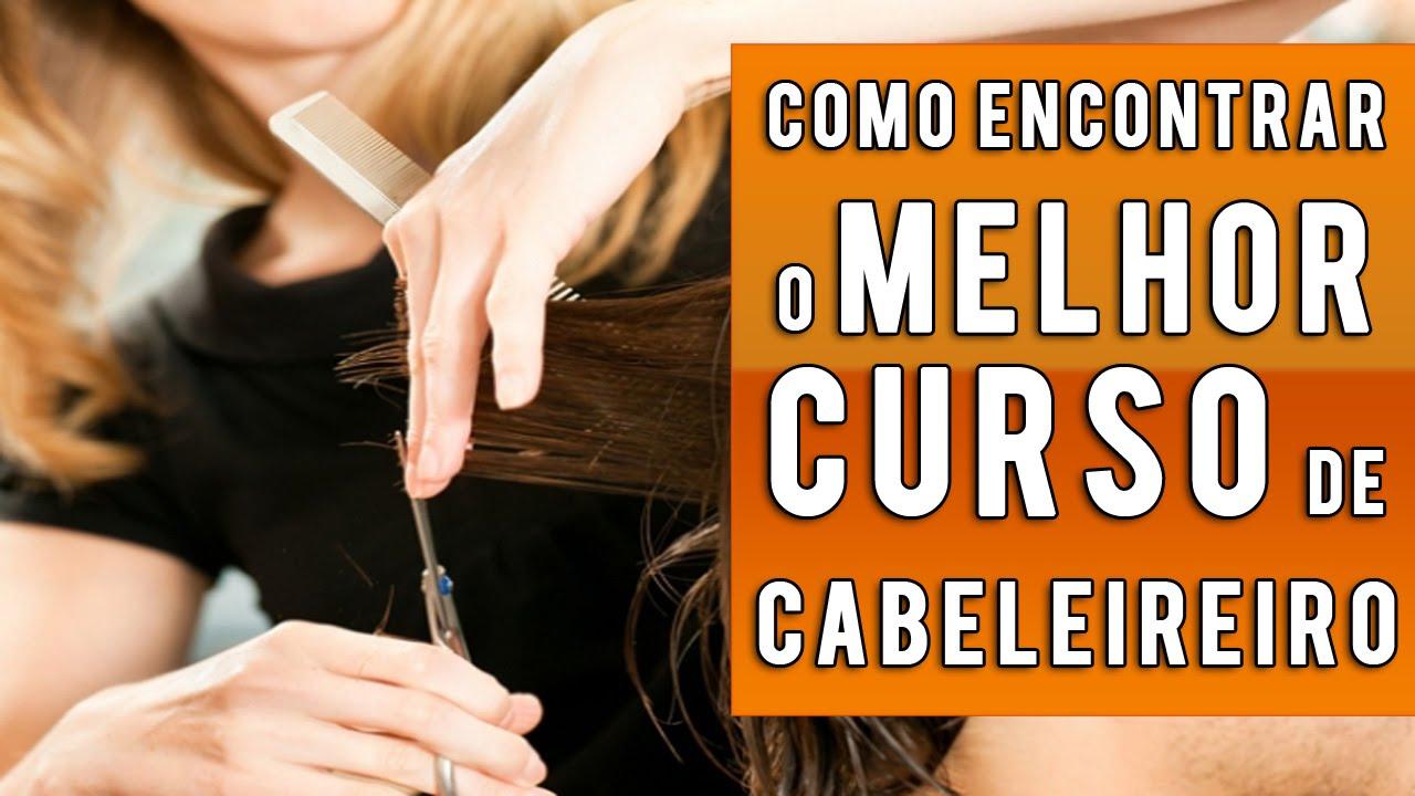 curso gratis online de cabeleireiro