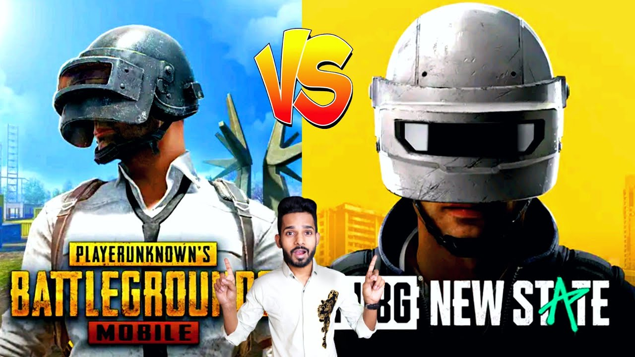 PUBG Mobile Vs PUBG New State 10 Big Difference 🔥