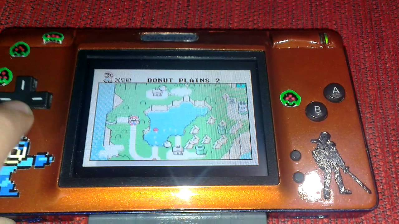 nintendo ds lite mod to gameboy advance custom final funnydog tv. Black Bedroom Furniture Sets. Home Design Ideas