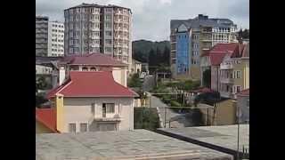Круговая панорама с новостройки в Адлере(Комплекс состоит из двух 4 этажных – домов, включающий в себя: жилую часть, подземный и придомовой паркинг,..., 2014-06-17T11:42:56.000Z)