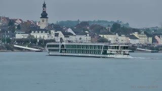 """Kreuzfahrtschiff MS """"Amadeus Silver II"""" - vor Rüdesheim"""