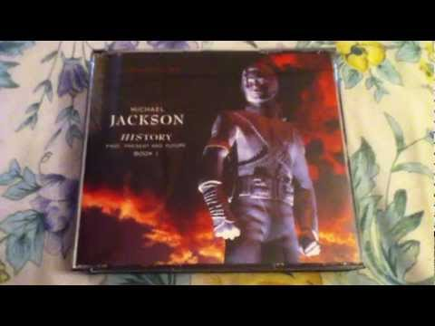 Michael Jackson HIStory Past, Present And Future, Book I CD Unboxing