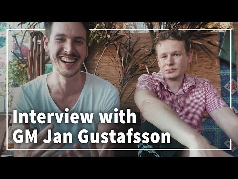 Interview with GM Jan Gustafsson