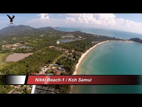Nikki Beach-1 / Koh Samui Thailand overflown with my drone