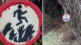 Die 10 UNHEIMLICHSTEN Dinge, dİe im Wald gefunden wurden