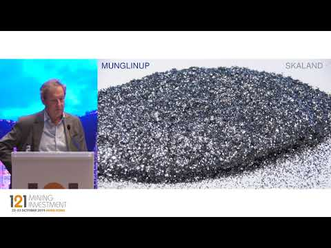Presentation:  Mineral Commodities - 121 Mining Investment Hong Kong 2019 Autumn