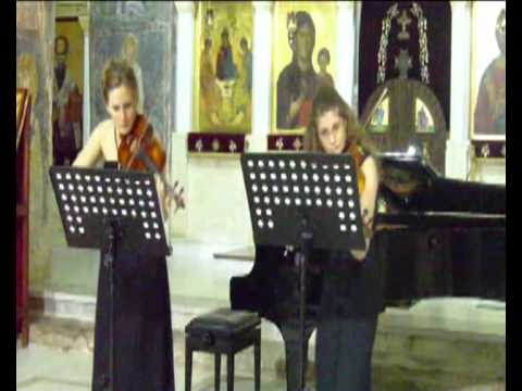 H. Wieniawski Etudes-Caprices for 2 violins op. 18, part 1 and 7