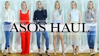 MY BESTIE DOES MY ASOS HAUL: Spring Transitional Outfits Haul, Unboxing and Try On