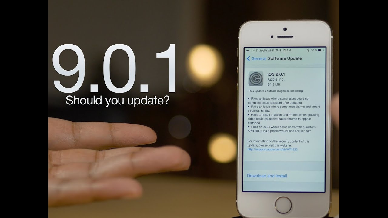 iOS 9 0 1 - What's it all about?