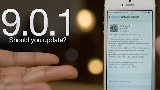 iOS 9.0.1 - What