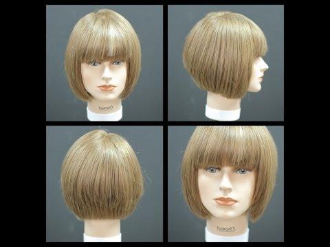 Bob Haircut with Bangs - Haircut Tutorial | TheSalonGuy