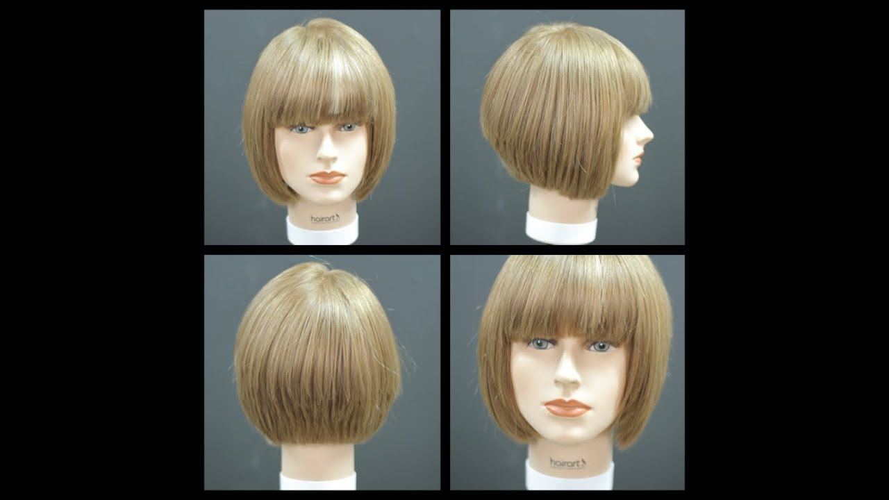 Bob Haircut With Bangs Haircut Tutorial Thesalonguy Youtube