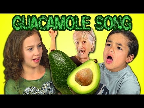 Kids React to The Guacamole Song (Dr. Jean's Banana Dance)