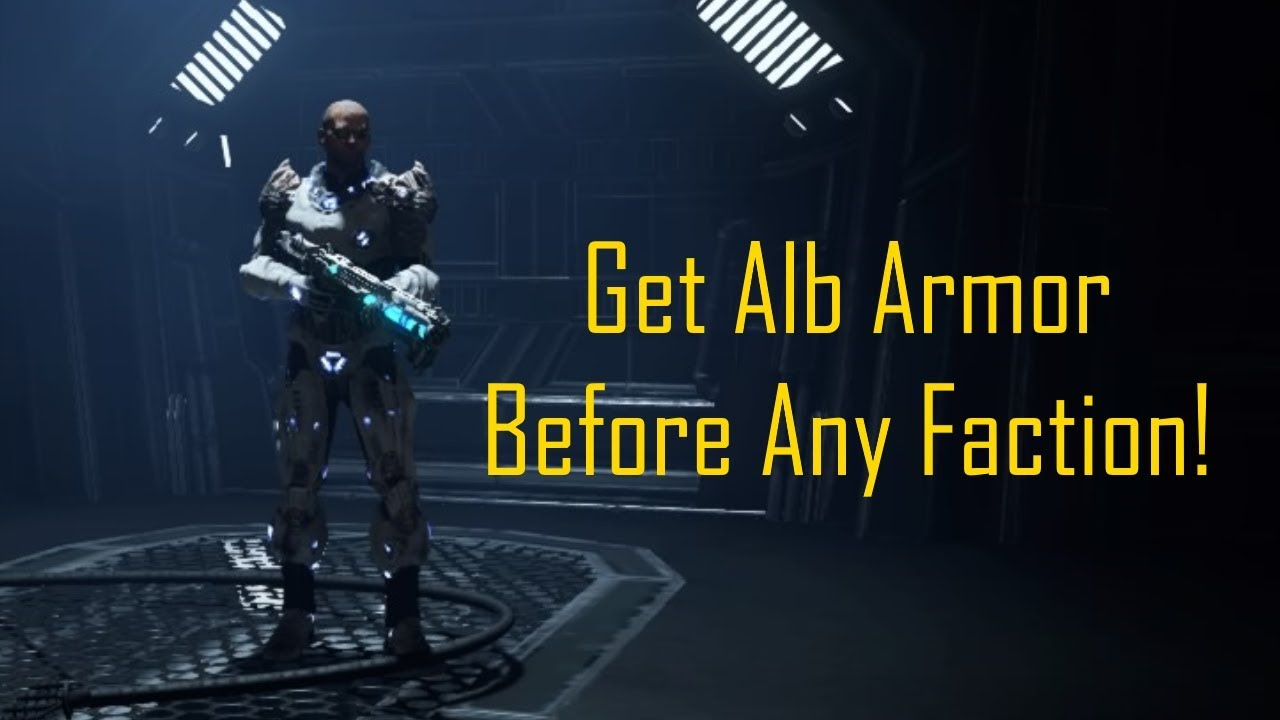 Elex - How To Get Alb Armor (Any Faction) [2018]