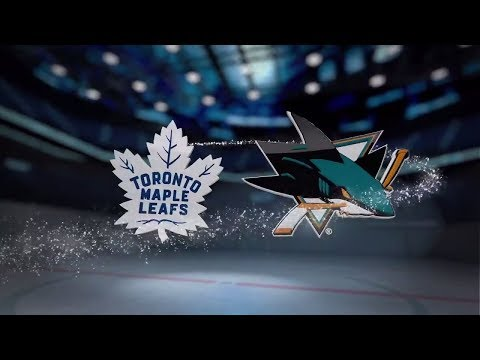 Toronto Maple Leafs vs San Jose Sharks - October 30, 2017 | Game Highlights | NHL 2017/18. Обзор